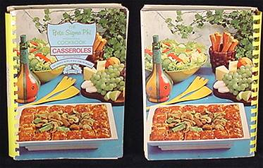 Beta Sigma Phi Casseroles Cookbook Recipe Book