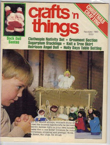 Crafts 'N Things, November 1983 issue cover.