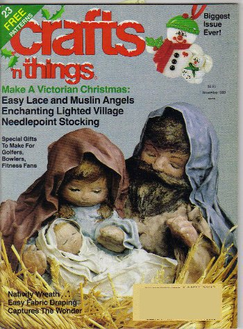 Crafts 'N Things, November 1989 issue.