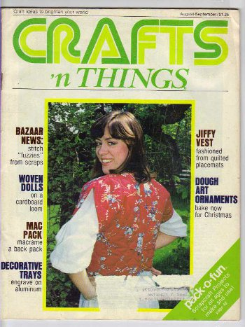 Crafts 'N Things Magazine August-September 1979
