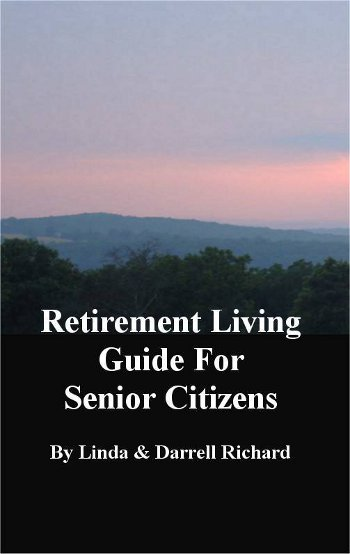 Cover of the Retirement Living Guide for Senior Citizens by Linda Richard.
